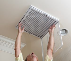 Air filter cleaning by Spencer - Irving, TX
