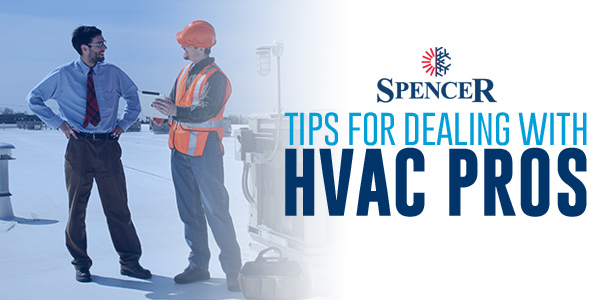 Tips for Dealing with HVAC Pros