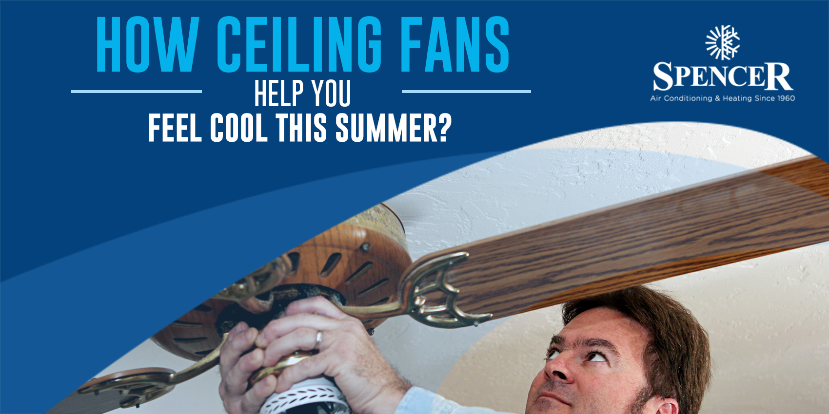 How Ceiling Fans Help You Feel Cool This Summer?